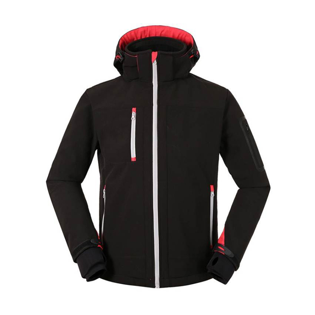 Ghua Winter Thermal Fleece Jacket Hiking Camping Outdoor Sport Jacket Men Thick