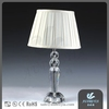 Simple modern creative arts living room bedroom bedside aisle crystal table lamp