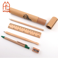 Wholesale Promotion items fancy latest recycled eco friendly China school stationery gift set from China
