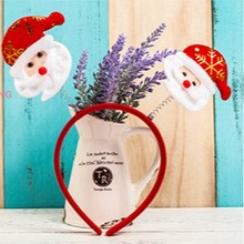 The New Christmas Ornaments Snowman Children Hair Hoop Christmas Headband Europe And The USA Selling Christmas Decorations