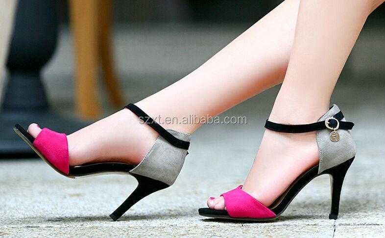 New Design Ladies Summer High Heel Sandals Latest High Heel Ladies ...
