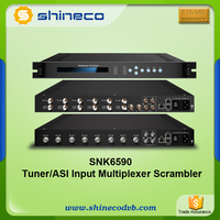 Digital Broadcasting DVB-S/ S2 Tuner Mux Scrambler Receiver