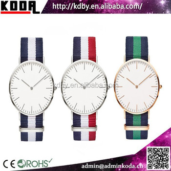 Water Resistant Quartz Watches 3 Bar Watch Stainless Steel An Movt Nato