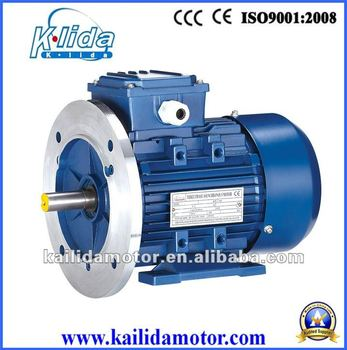 220v 380v 3 Phase Electric Motor Ip55 Protection Class