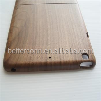 High Quality Real Natural Walnut Wood Wooden Hard Cover Case for iPad Mini123 For iPad Mini4 For iPad Air2
