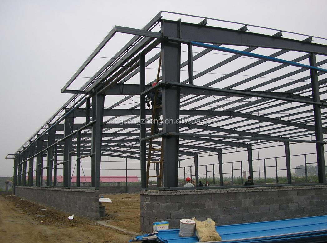new style heat insulation steel frame warehouse