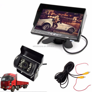 "7"" Stand-alone Monitor for car/rearview mirror with camera/car backup mirror monitor"