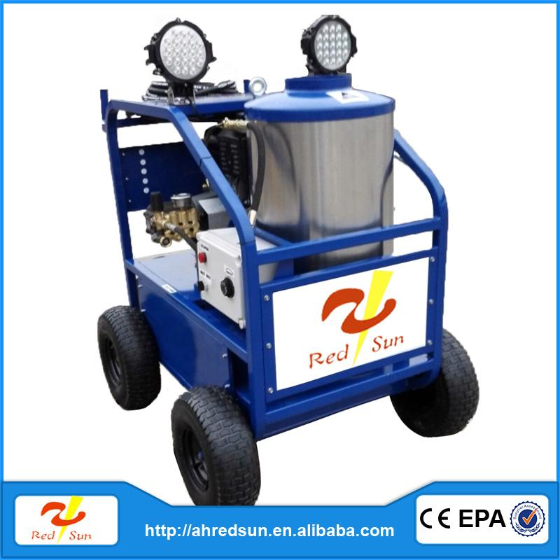 Hot water hydor jet pump drain cleaning machines for sale gasoline high pressure washer car wash equipment