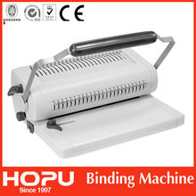 HOPU for office equipment a4 paper comb binding machine