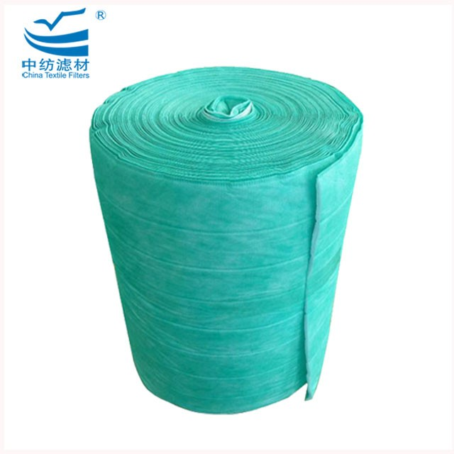Dust Collection Filter Material Roll Mini Pleat F7 Filter