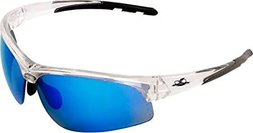 Buy Safety Vu Rimless Safety Glasses, Clear/Blue in Cheap