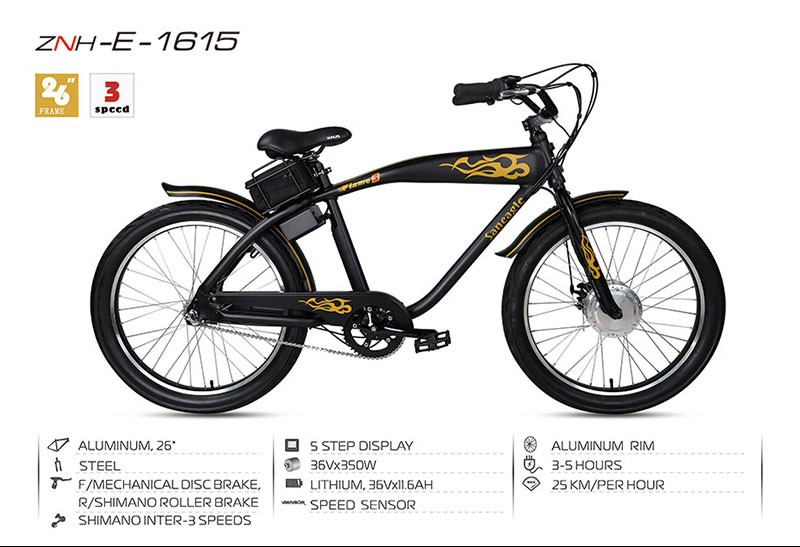Foshan Factory 26 inch low price lithium battery fat tire electric bike electric bicycle e bike