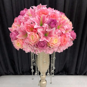 Bq50 B Artificial Flower Arrangement For Wedding And Parties Wholes