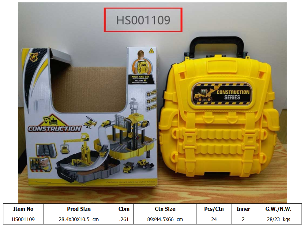 HS001109, Huwsin Toys, Educational toy, pack construction set