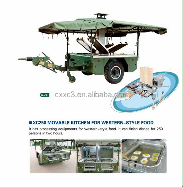 Military 100 to 150 Person Field Mobile Kitchen