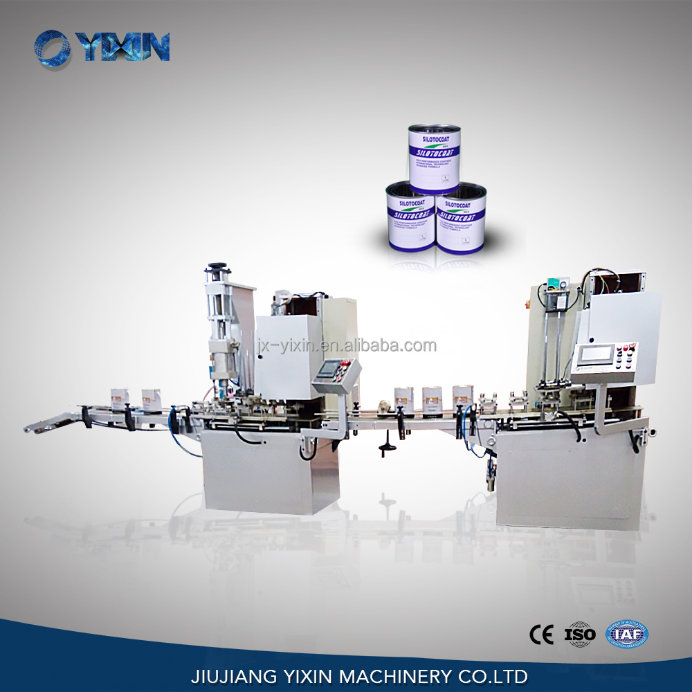 Automatic can seaming machine tin can sealer price