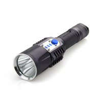 10 W American XML T6 LED waterproof flashlight torch for EDC and camping