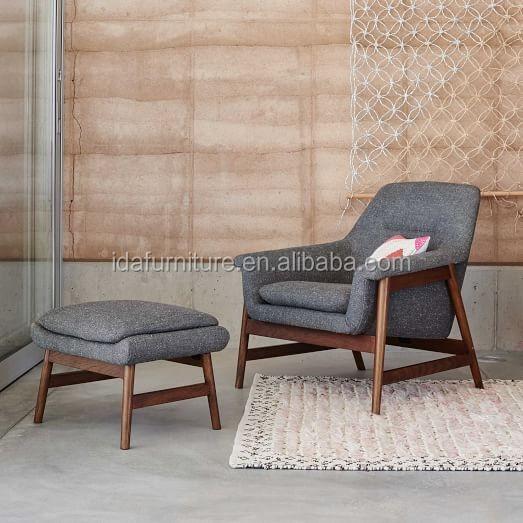 moderne mode scandinavische meubels leisure hout stof stoel - buy