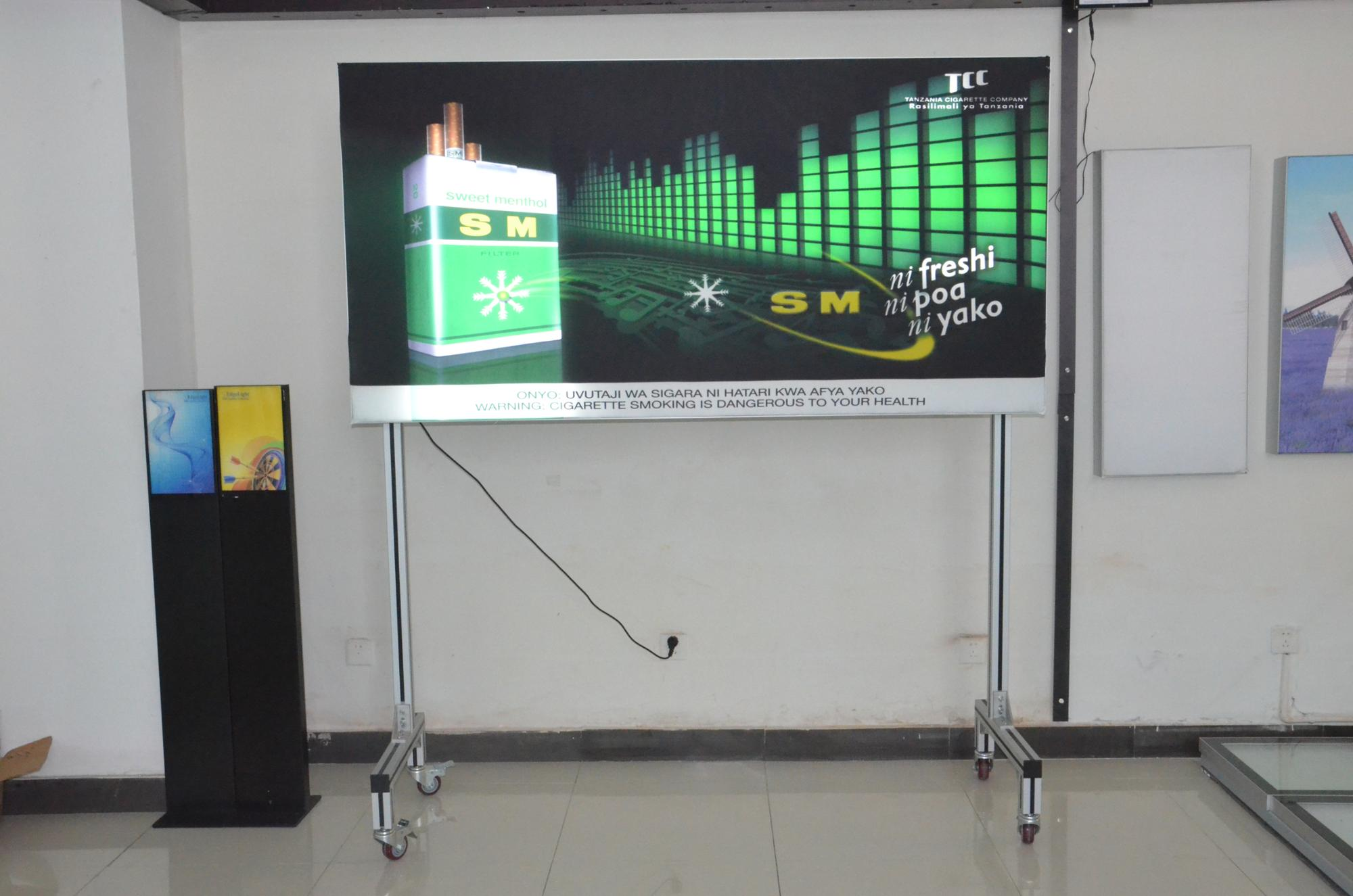 2835 smd LED SMD led pixel motion screen advertising display light module full color RGB P10 LED module