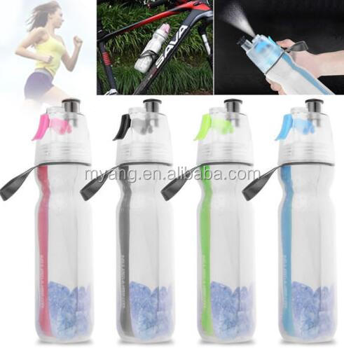 Misting Water Bottle Insulated Bottle with Spray