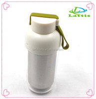 420ML transparent shell Thermos Cup Stainless Steel Water Bottle Vacuum