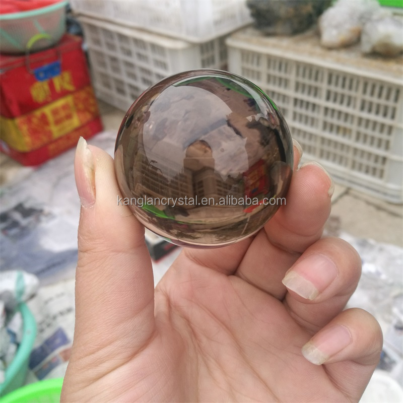 High quality natural smoky quartz crystal balls,rock rainbow quartz spheres,crystal rainbow in balls spheres