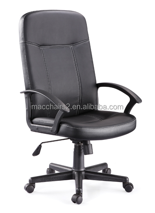 Hot sell high back leather office chair and components