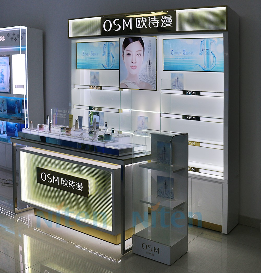 medical store counter design cosmetic shop counter design