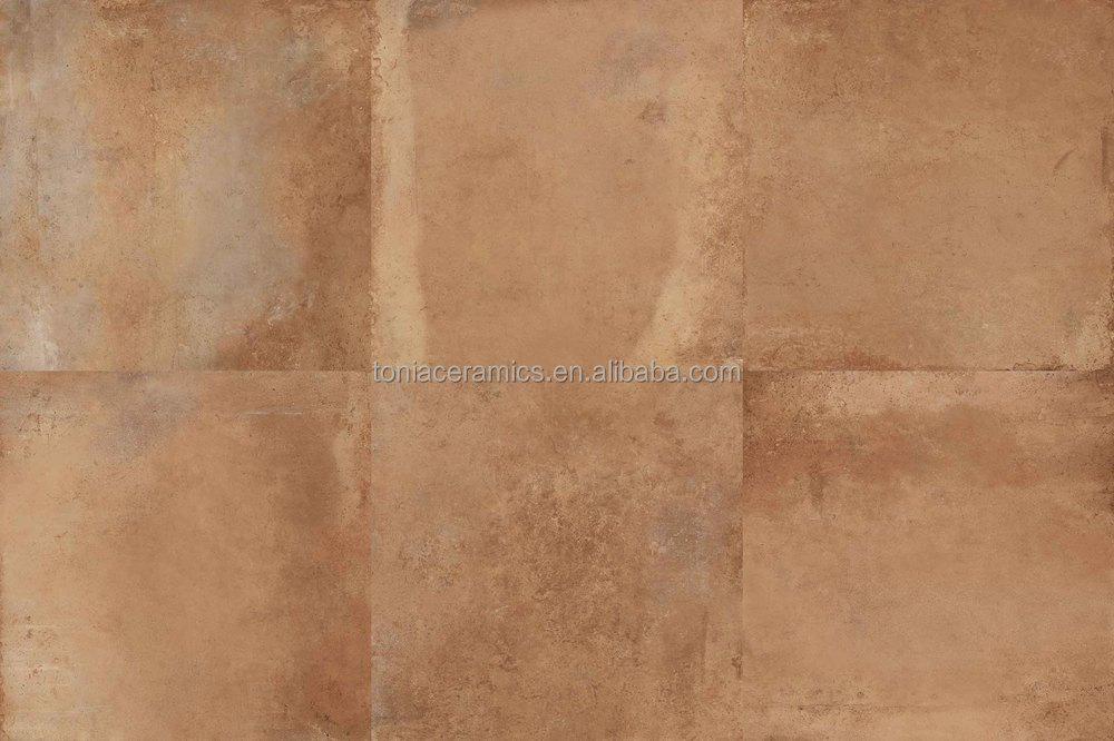 Gres porcellanato rustico matt ruggine piastrelle mix di colori una