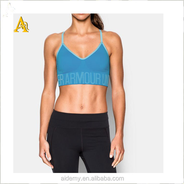 Active wear Workout Gym Fitness Yoga Sports Cotton Bra Factory in China