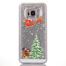 New Arrival PC Five Colors Christmas Tree Style Case For Samsung Galaxy S8 Plus