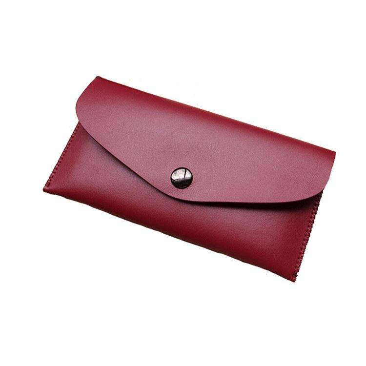 New arrival trendy style portable short wallet women slim envelope purse