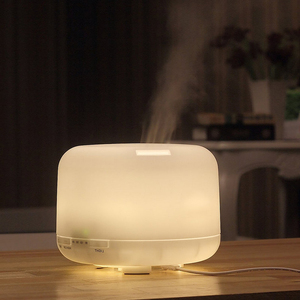 Fashion portable essential oil diffuser air difusse from home decoration aroma with 7 led night light good quality