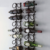Customized American Modern Style Home Decoration Creative Wall Wine Rack
