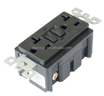 No load weatherproof 15 amp gfci receptacle for generator