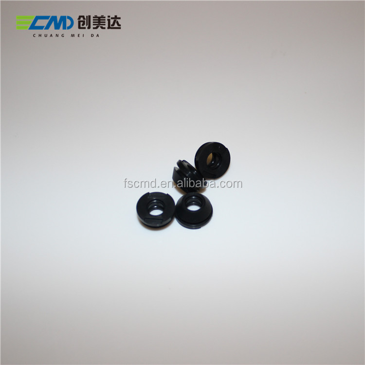 Black Color Silicone Rubber Sheath 6mm