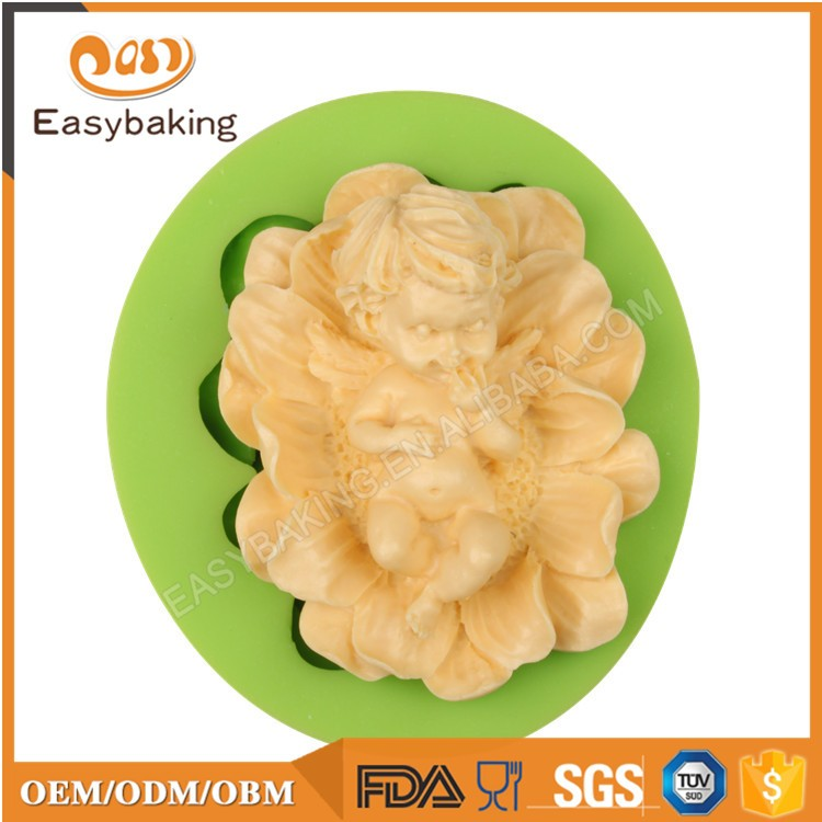 ES-1901 Fondant Mould Silicone Molds for Cake Decorating