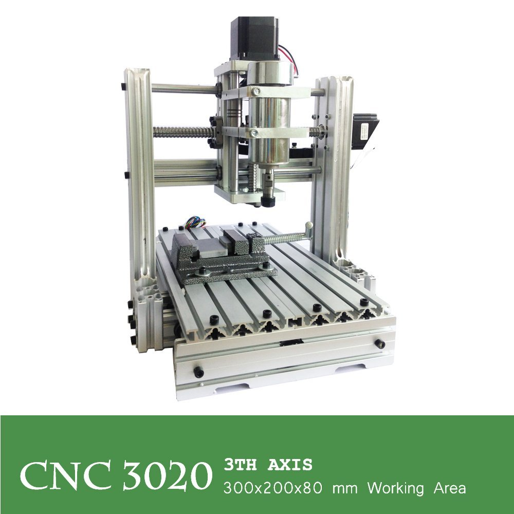 CNC 3020 300w 3 Axis Engraver with USB Port 3D Drilling Router DIY cnc3020 Wood Carving Engraving Machine Engraver Milling Machines Kit