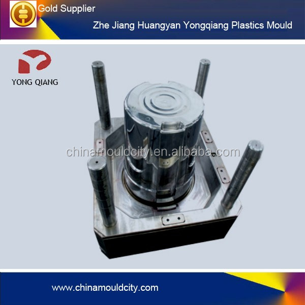 customising design plastic garbage can mould for injection, oem plastic injection mould