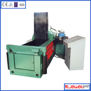JPY81 series metal baler Automatic Aluminum Cans Compactor Block Making Machine