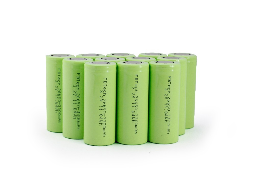 Po4 Charge: Hot Selling Rechargeable LiFe PO4 26650 3.2v 3300mAh