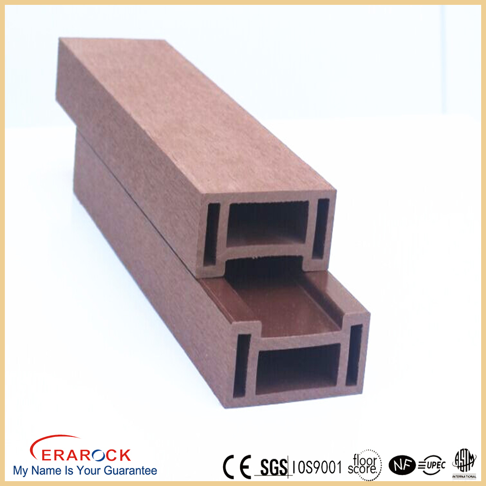 Eco-friendly outdoor wood plastic composite wpc wall cladding
