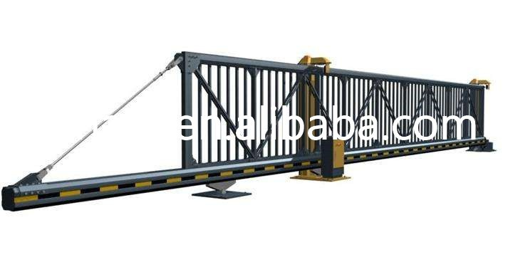Suspended automatic sliding door