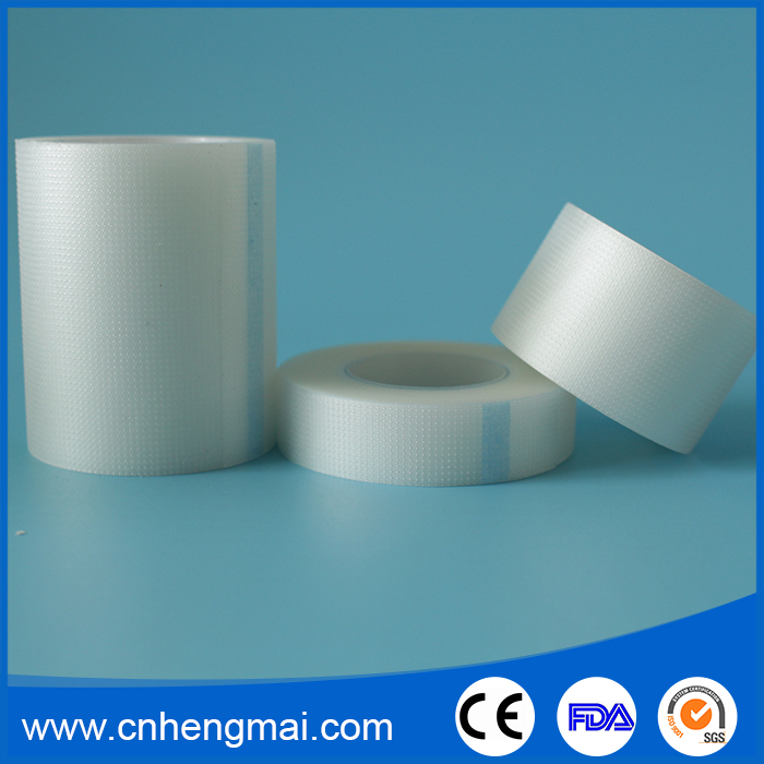 Breathable Hypoallergenic China OEM Surgical Transparent PE Padded Adhesive Tape