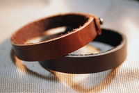 Leather Bracelet, His Hers Bracelet