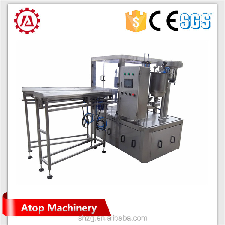 good quality automatic butterfly valve bag-in-box liquid filling and capping machine With Long-term Service