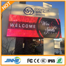 Customized Full Color LED Video Board HD P10 SMD Electronic Outdoor Advertising LED Display Screen
