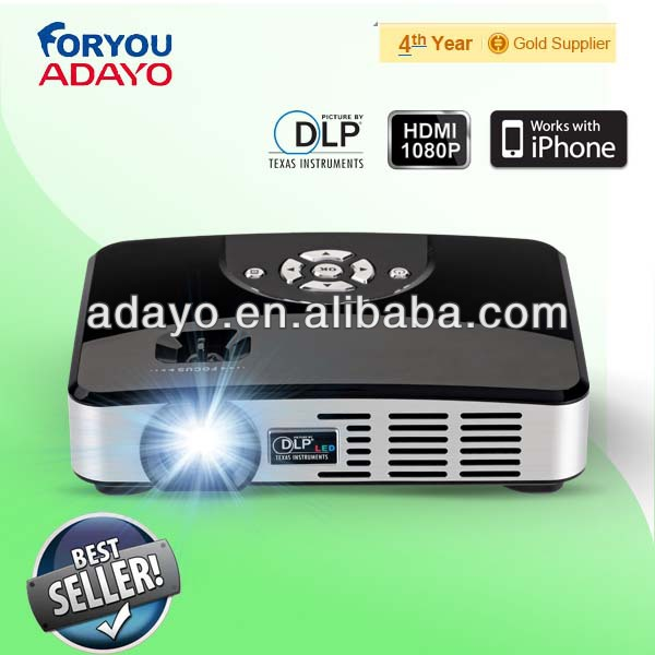 office and home use led cheap pocket projector adayo huizhou factory