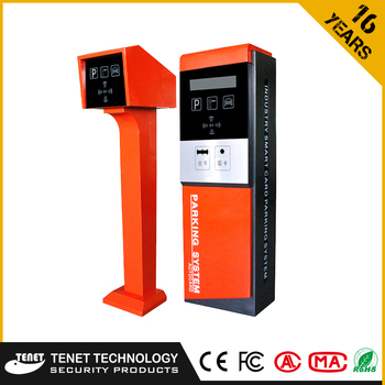 Supplier Parking System Entrance Exit Box/terminal Security Equipment  Ticket Issuing Machine Card Vending Machine With Reader - Buy Parking  Access