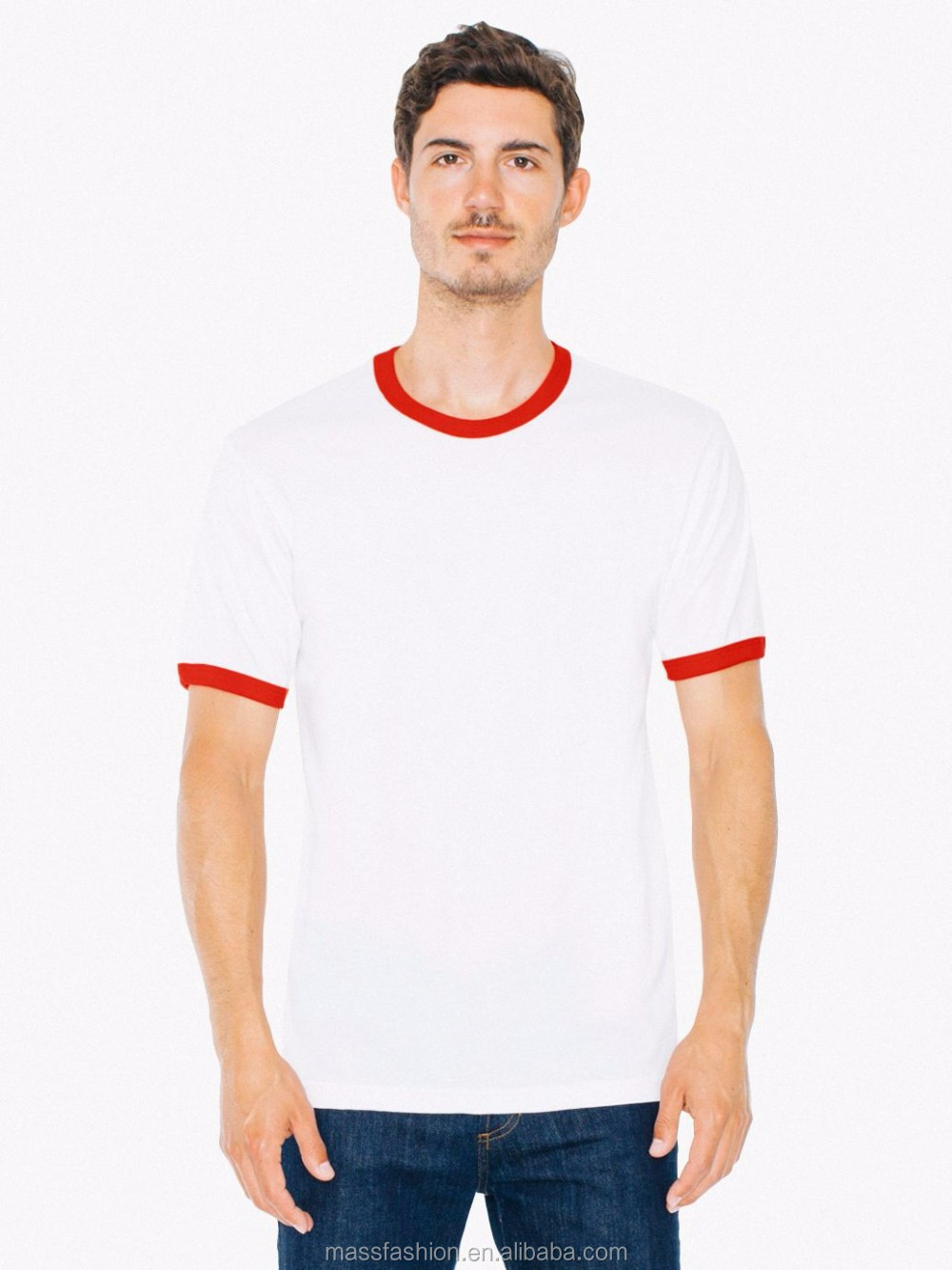 Best selling custom ringer t shirt with high quality buy for Best custom t shirt